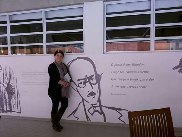 Palestra na Biblioteca de  Guararema