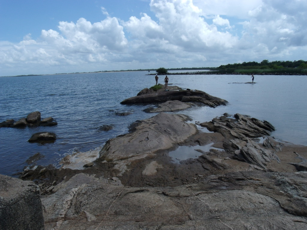 Praia na Lagoa dos Patos em SLS