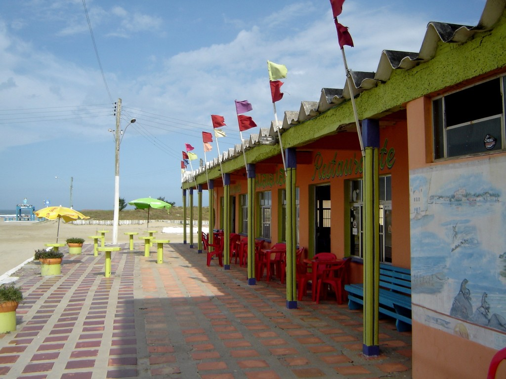 Restaurante na Praia do Mar Grosso