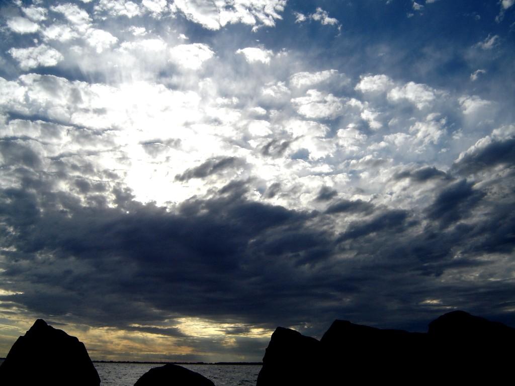 Tanto céu, tanto mar...