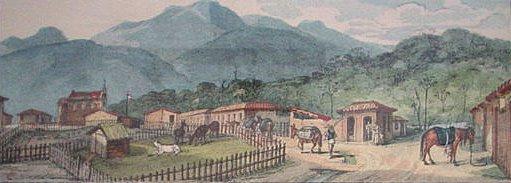 Jacareí vista por Debret em 1841