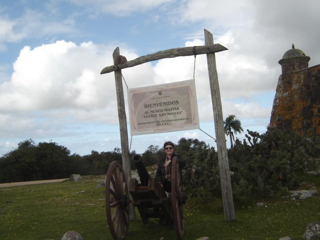 Forte São Miguel, entrada