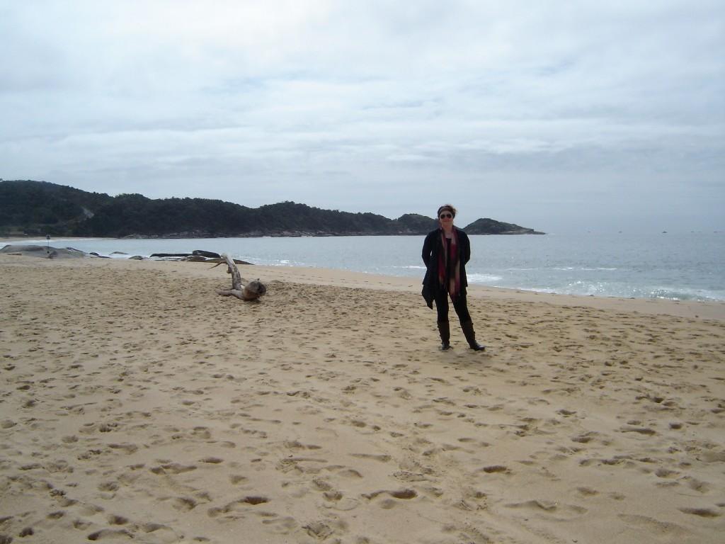 Praia do Estaleiro, Camboriú, SC.