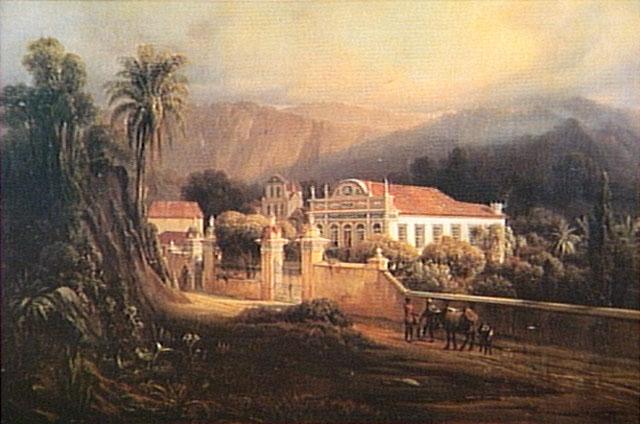 Linde Karl, trecho de Paisagem Urbana 1865, Enciclopédia Virtual Itaú