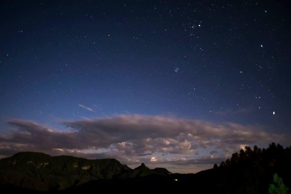 Vista da Pousada Kiriri-etê - Urubici - SC. foto de Jarbas Porto de Mattos