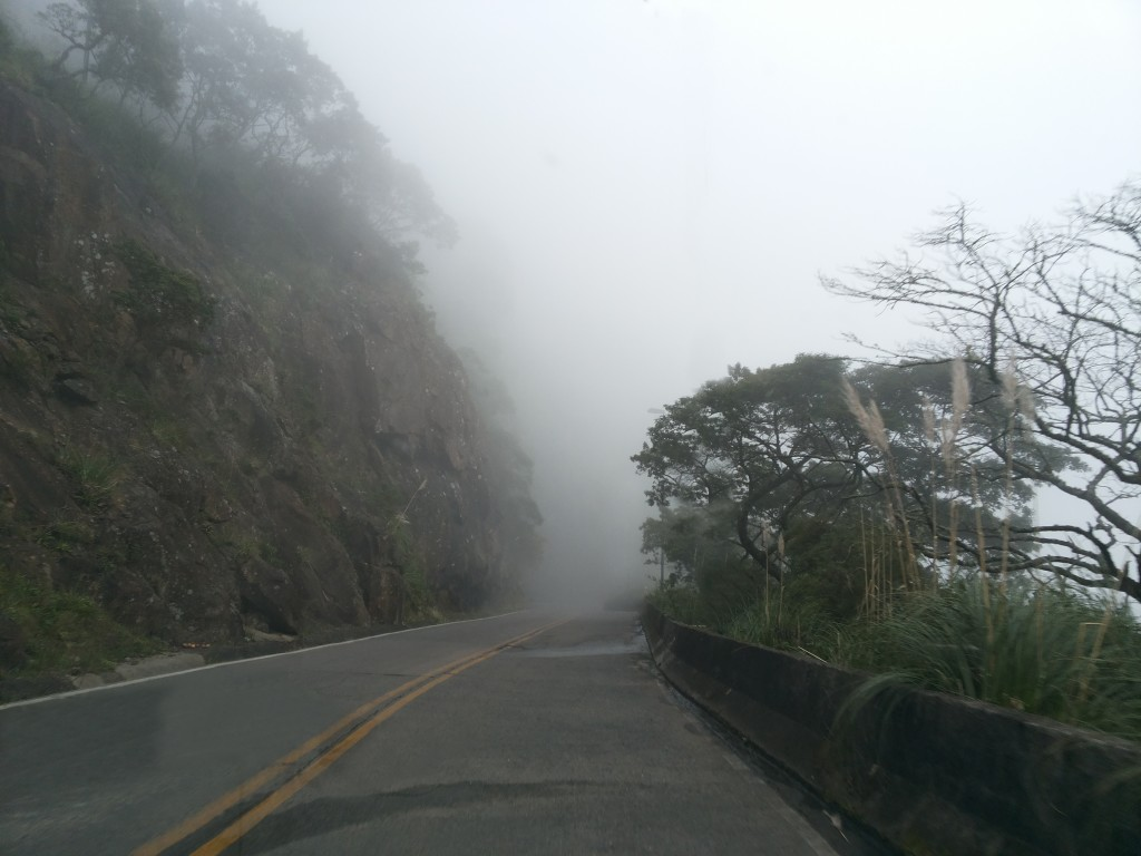 Serra do Rastro neblina