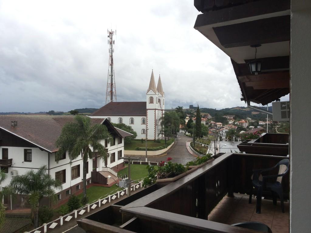 Treza Tilias vista sacada do hotel2