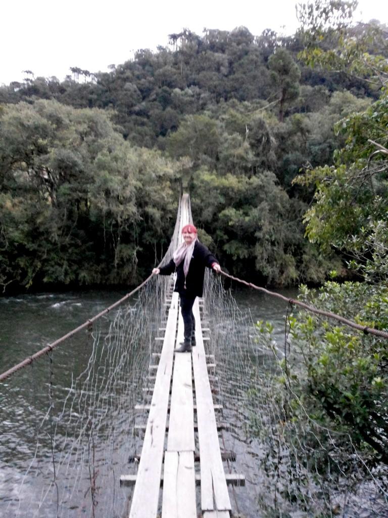 Urubici ponte sobre o Rio dos Bugres