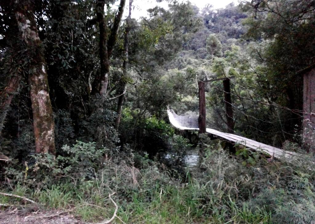 Urubici ponte suspensa