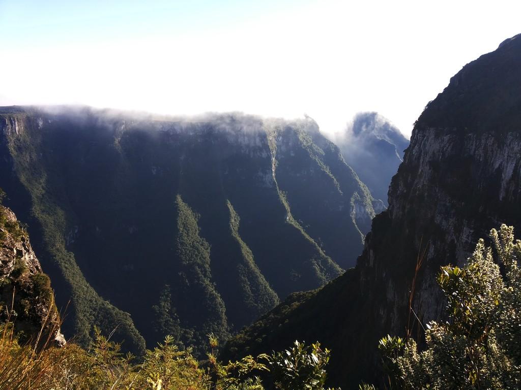Canion da Serra Geral com neblina