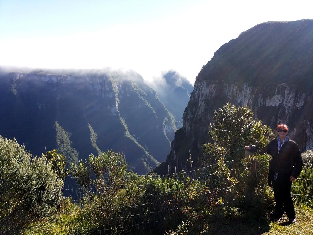 Lud beira do canion Serra Geral