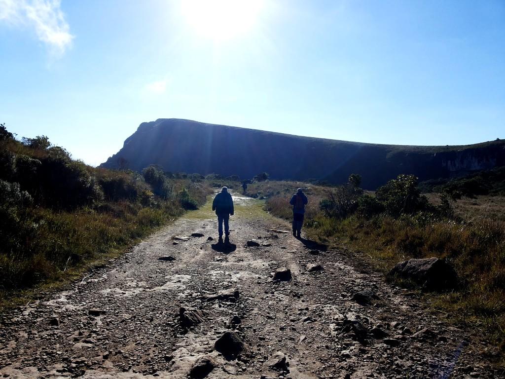 Serra Geral inicio caminhada