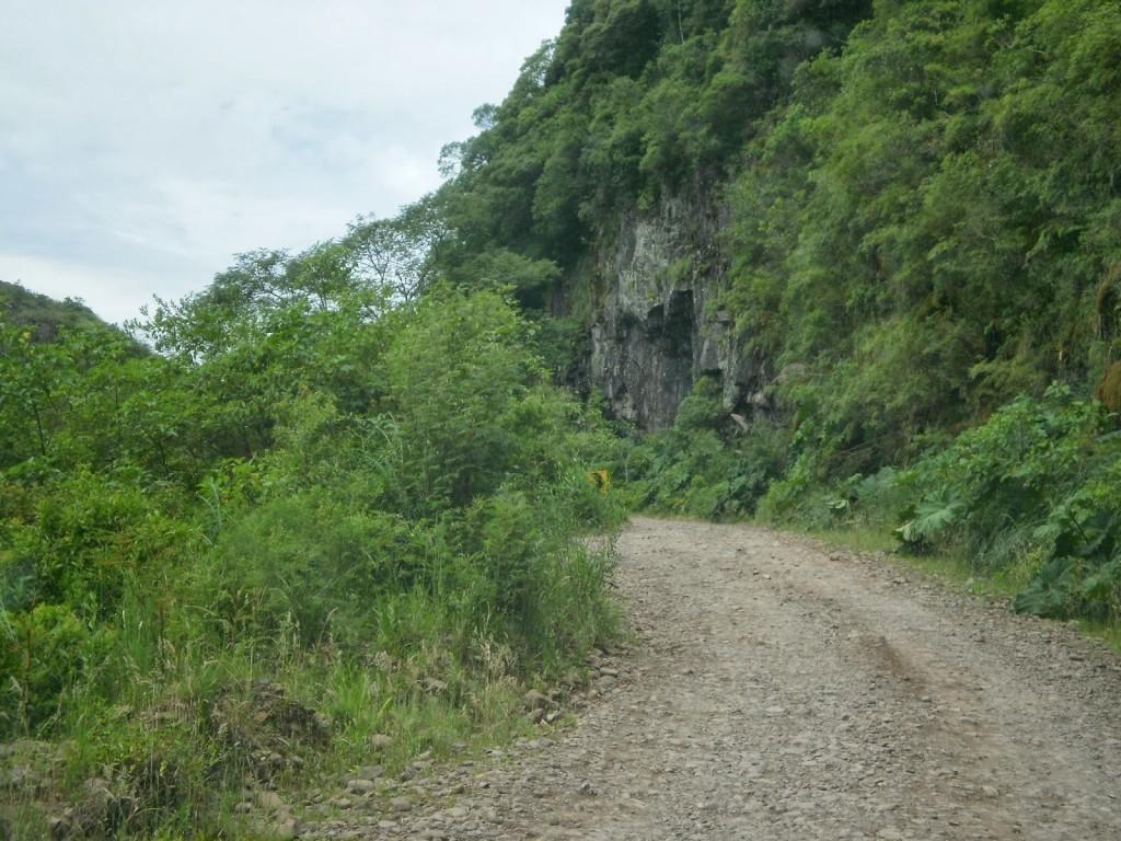 estrada Serra do Faxinal